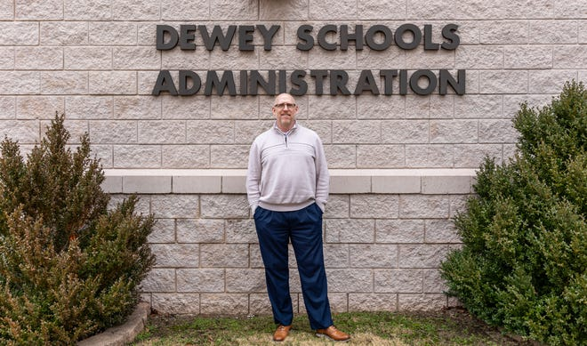 """It's an understatement to say that this school year has been extremely challenging,"" says Dewey school Superintendent Vince Vincent."