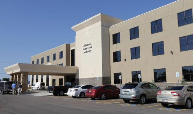 Oklahoma Health Care Authority, 4345 N Lincoln Blvd., in Oklahoma City Tuesday, Aug.12 , 2014.
