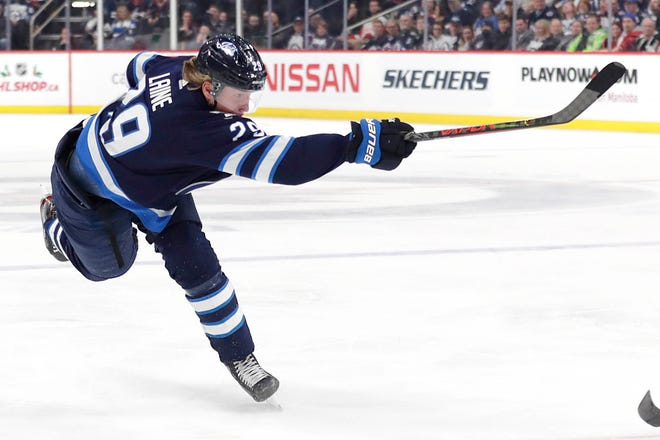 In four-plus seasons with the Winnipeg Jets, Patrik Laine established himself as one of the NHL's top shooters.