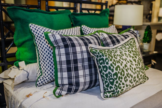 Once you pick some fabrics that make you smile, it's time to determine the number, size and shape of your pillow mix. (Handout/TNS)