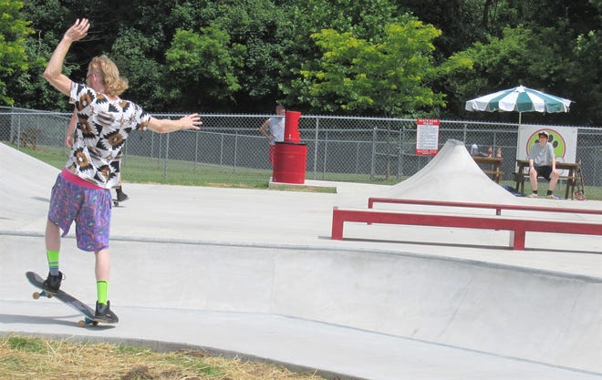 The skate park and dog park are among the many activities available at Deer Run Park. On Monday, Millersburg council approved teaming with the Holmes County District Public Library for the addition of story walks in the park.