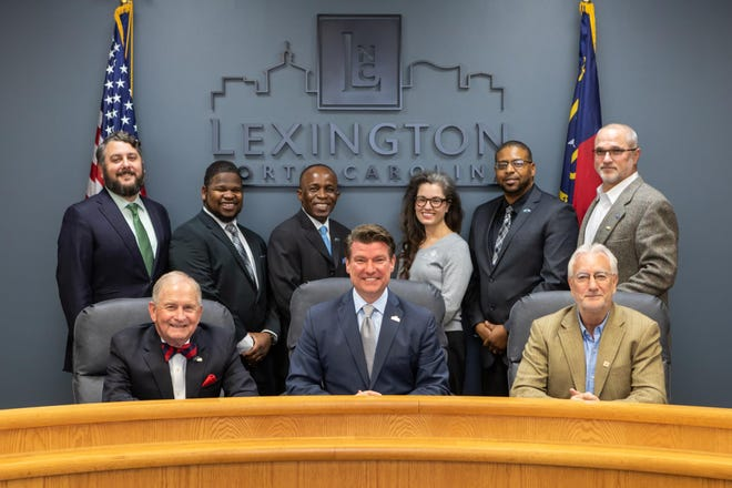Members of the Lexington City Council