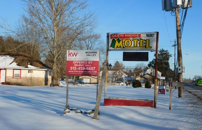 The Glen Ridge Motel on Route 5 in East Herkimer is being offered for sale.