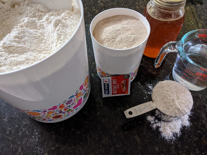Sourdough starters work on their own timing: this could take anywhere from 2-7 days to be ready.