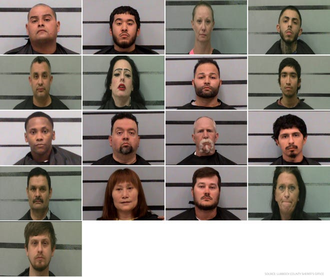 The Lubbock Police Department's Special Operations Division with the assistance of LPD Patrol, Texas Tech Police Department, Lubbock County Sheriff's Office, Homeland Security Investigations and Texas Alcoholic Beverage Commission conducted a two-day prostitution operation, Jan. 21-22, targeting human trafficking and prostitution.