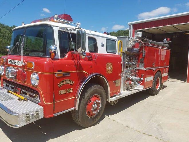 Southwest Fire District truck.