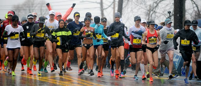 After being scrapped for 2020, the Boston Marathon finally has a 2021 date: Oct. 11. [Daily News file photo/Art Illman]