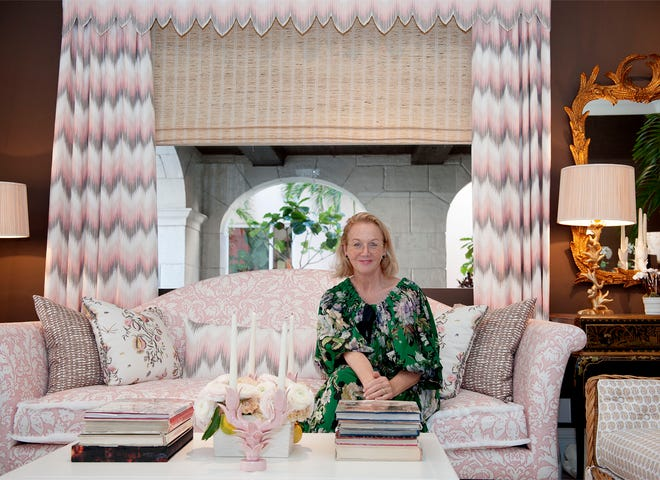 Designer Alessandra Branca has opened Casa Branca at 344 Worth Ave. in Palm Beach. This new location for Branca Interiors and Casa Branca collections showcases fabric, wallpaper, art, furniture and pillows.