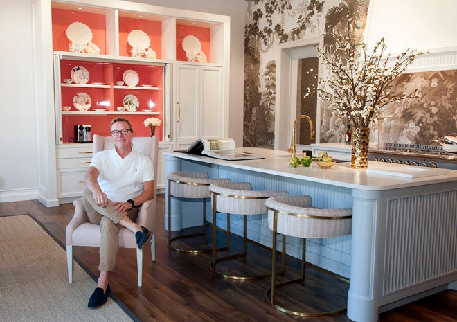 """Jim Dove, who has been designing """"living kitchens"""" in the Palm Beach area for several years, has opened a showroom on Antique Row in West Palm Beach."""
