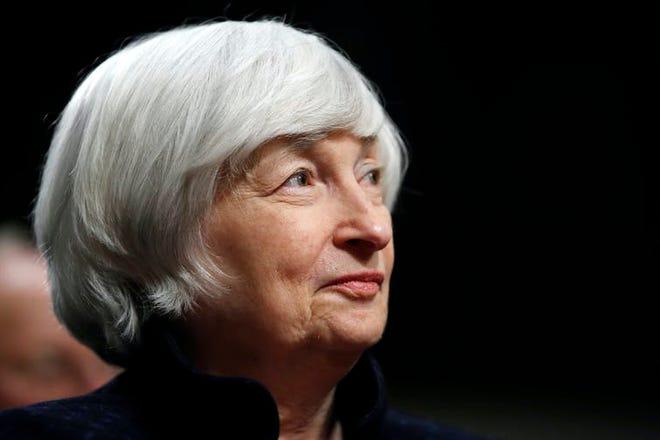 Janet Yellen, the new secretary of the Treasury. (AP Photo/Jacquelyn Martin)