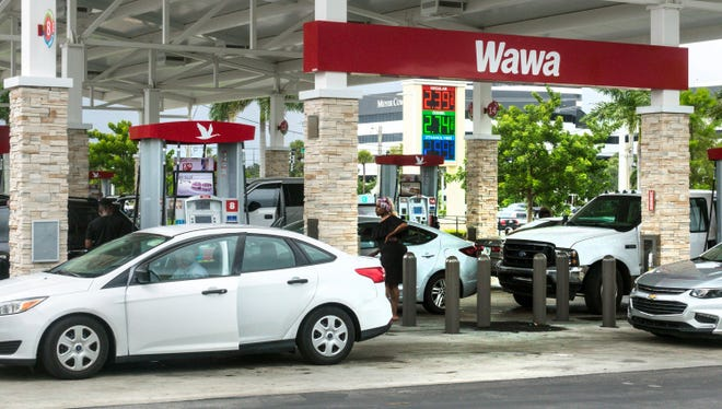 West Palm Beach commissioners gave initial approval last week for a Wawa Market and gas station to rise at the corner of Military Trail and 45th Street.