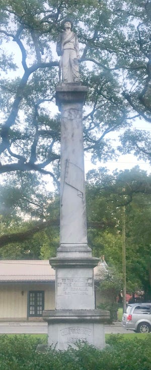 A statue that paid homage to Confederate soldiers will soon be removed from the grounds of Plaquemine City Hall. The Iberville Parish Council unanimously approved removal of the monument during its June 18 meeting.