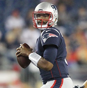 Jacoby Brissett was a third-round pick in the 2016 draft by the Patriots, who traded him away before the 2017 season.