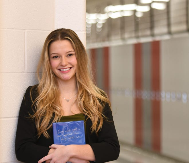 Sandy Valley High School senior Christine Lawver is a Canton Repository Stark State College Teen of the Month for January.