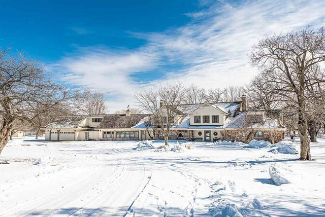 This home at 5094 Severson Road, Rockford is for sale for $1,550,000.
