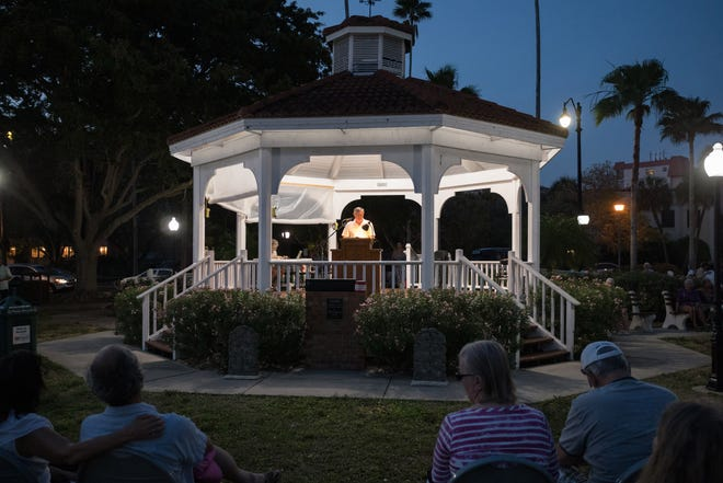 Since the start of the COVID-19 pandemic, the only events the city of Venice has approved have been concerts at the Venice Gazebo in Centennial Park, pictured here, sponsored by Venice MainStreet.