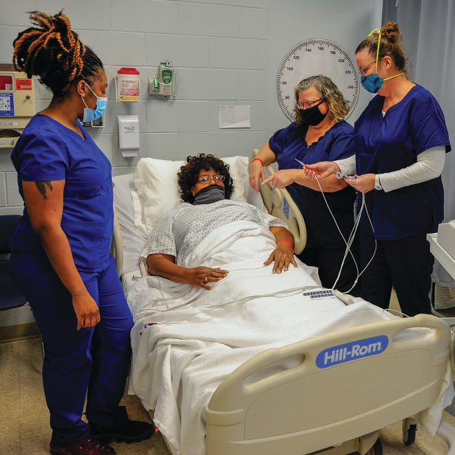 Pamlico Community College's Continuing Education division offers short-term training courses that can lead to great careers, including jobs in the fast-growing health care sector. New courses are slated to begin soon. [CONTRIBUTED PHOTO]