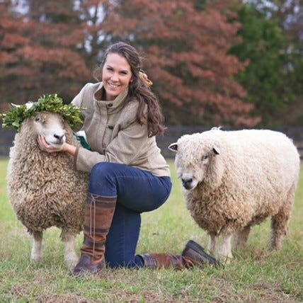 Laura Brittingham from Brittingham Farms in Millsboro, is one of two recipients of the Historic Lewes Farmers Market's Debra L. Schaefer Scholarship for Emerging Women Farmers.