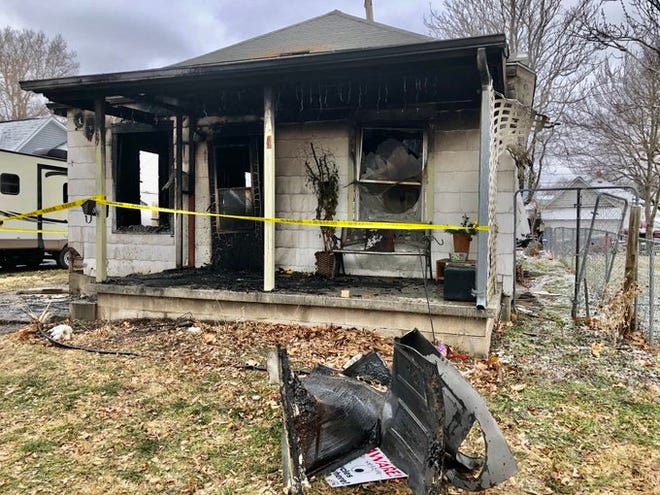 An accidental fire early Tuesday morning significantly damaged this house at 427 N.E. Emmett in northeast Topeka's Oakland community.