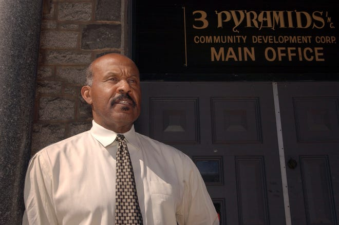 Adrian Ford, director of Three Pyramids Inc. in Fitchburg, on March 17, 2005.