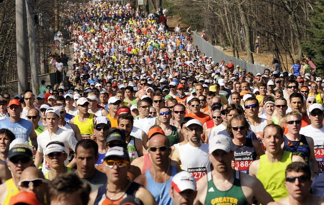 It is hoped we'll see these streams of runners through the streets of Hopkinton in October at the 125th Boston Marathon.