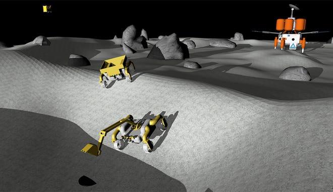 Robotics simulation created by Worcester Polytechnic Institute's robotics team, Team Capricorn.