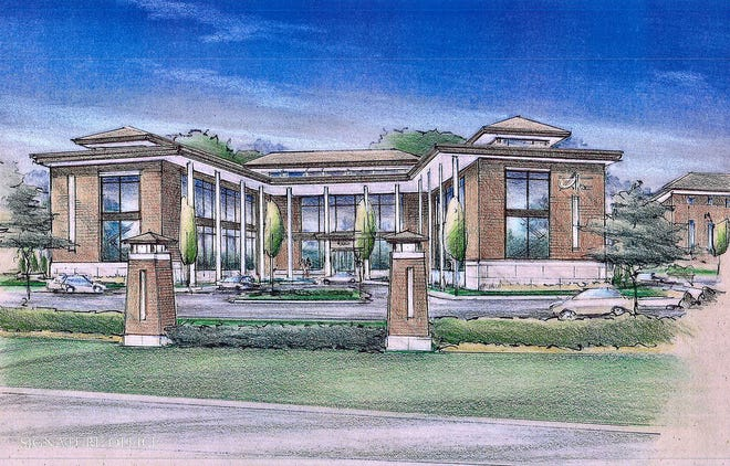 The Eastwood development is planned for East Main Street and Summit Road in Licking County. The development will have more than 700 homes and apartments,a community center with an outdoor pool and park space.