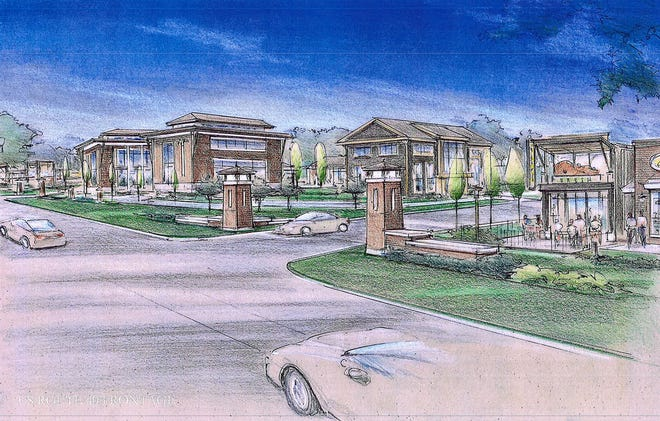 The Eastwood development is planned for East Main Street and Summit Road in Licking County. The development will have more than 700 homes and apartments, a community center with an outdoor pool and park space.