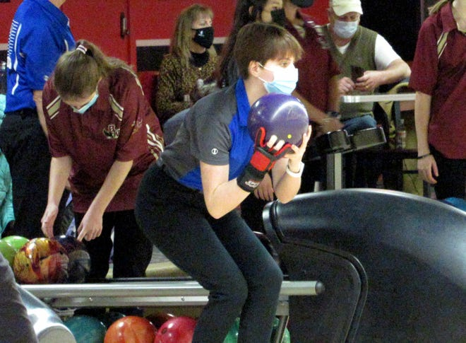 Sophomore Cece Muraco and her Ready bowling teammates are preparing for the Division II postseason.