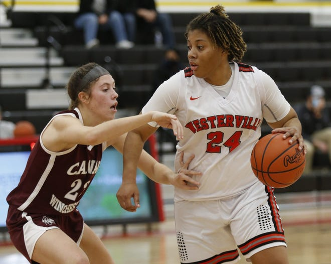 Senior center Aja Austin was averaging team highs of23.0 points and 12.3 rebounds through 13 games while providing vital leadership for South. Austin will play college basketball at Delaware.