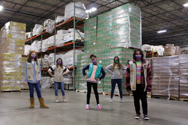 Girls Scout cookies will be available for sale in Van Alstyne though Feb. 28.