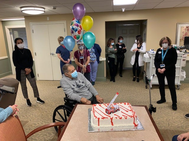William Ridgley is honored at Brudnick Center for Living.