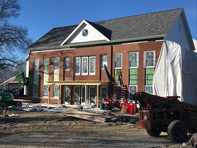 The construction of the new Scituate Senior Center is moving along nicely.  Make a donation through the Fund A Room campaign and help offset the building costs.