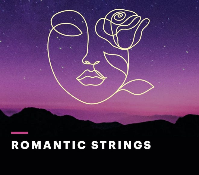 "The first 2021 Abilene Philharmonic concert is ""Romantic Strings."""