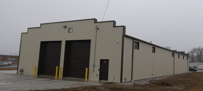 Seneca County Area Transit has renovated the county-owned former armory at Southern Avenue and Fairground Road.