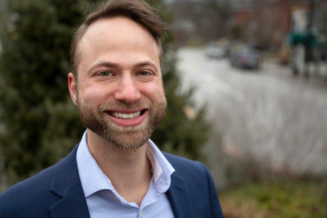 Cincinnati mayoral candidate Gavi Begtrup.