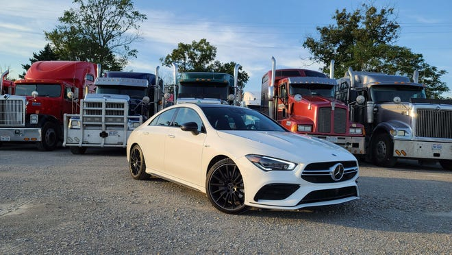 Keep on truckin'. The 2020 Mercedes CLA is the German brand's stylish, entry-level sedan.