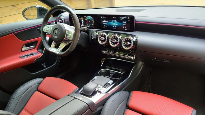 The 2020 Mercedes CLA is an example of the brand's superior interiors.