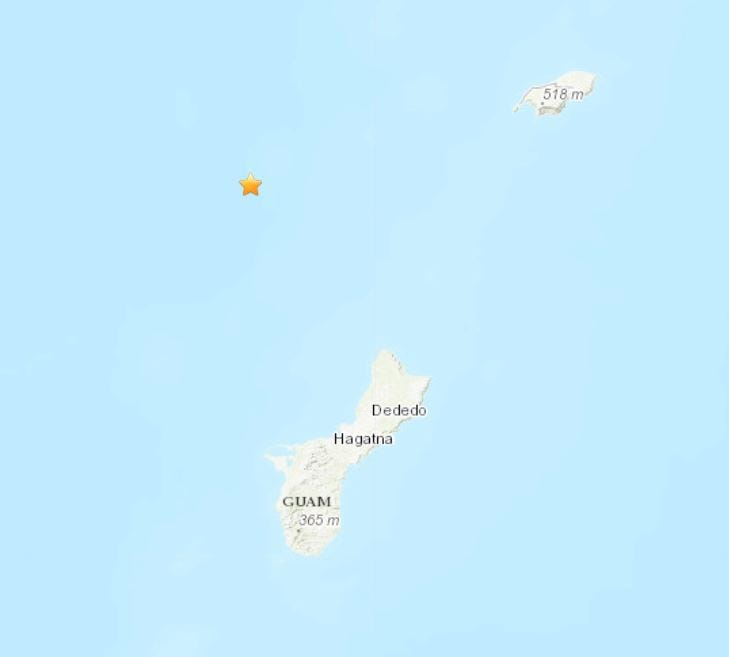 4.6 earthquake recorded Tuesday morning