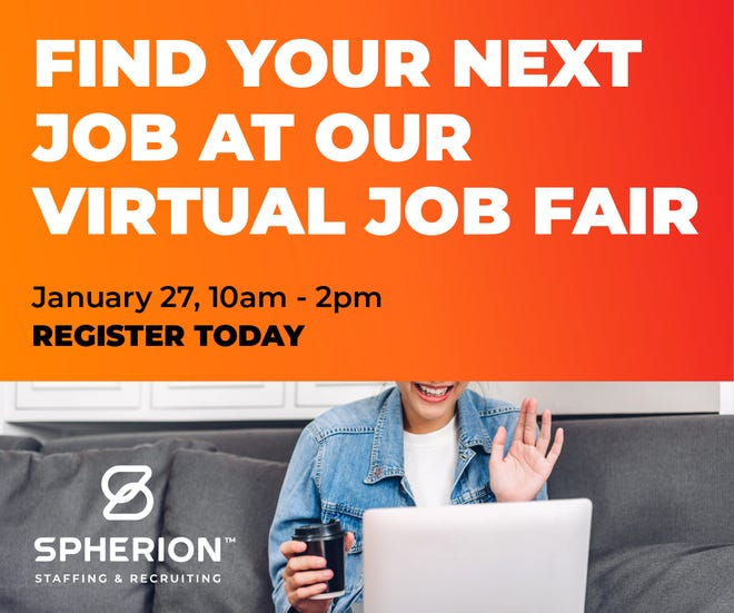 Spherion is hosting a virtual, national job fair on Wednesday.