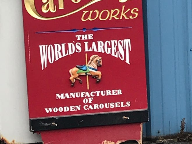 The Carousel Works filed for bankruptcy this month. The business had operated at 1285 Pollock Parkway. The business is no longer operating at the site.