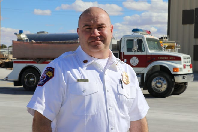 Chief Shannon Cherry, who was formerly the deputy fire chief in Sandoval County,  to take over Doña Ana County Fire Department.