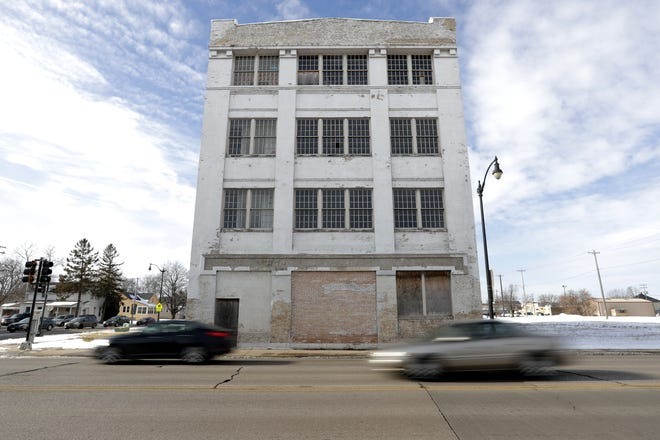 The old Miles Kimball building is located at  851 S. Main St., on Wednesday, Jan. 13, 2021, in Oshkosh.