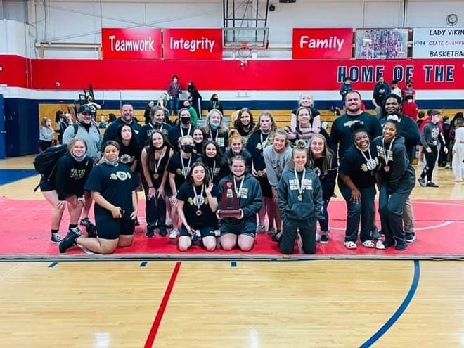Milton weightlifting earned a district runner up at Friday's championship. The Panthers had 14 lifters qualify for the regional championship.