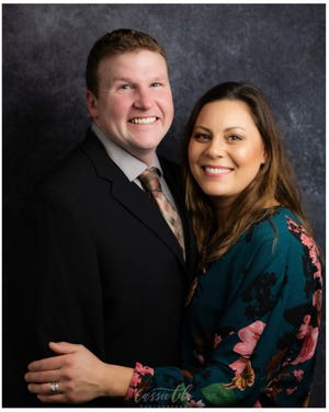 Philip and Laura Finger will compete for national honors in the Outstanding Young Farmer Awards Program.