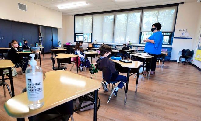 Classroom on Nov. 16, 2020, in La Puente, California.