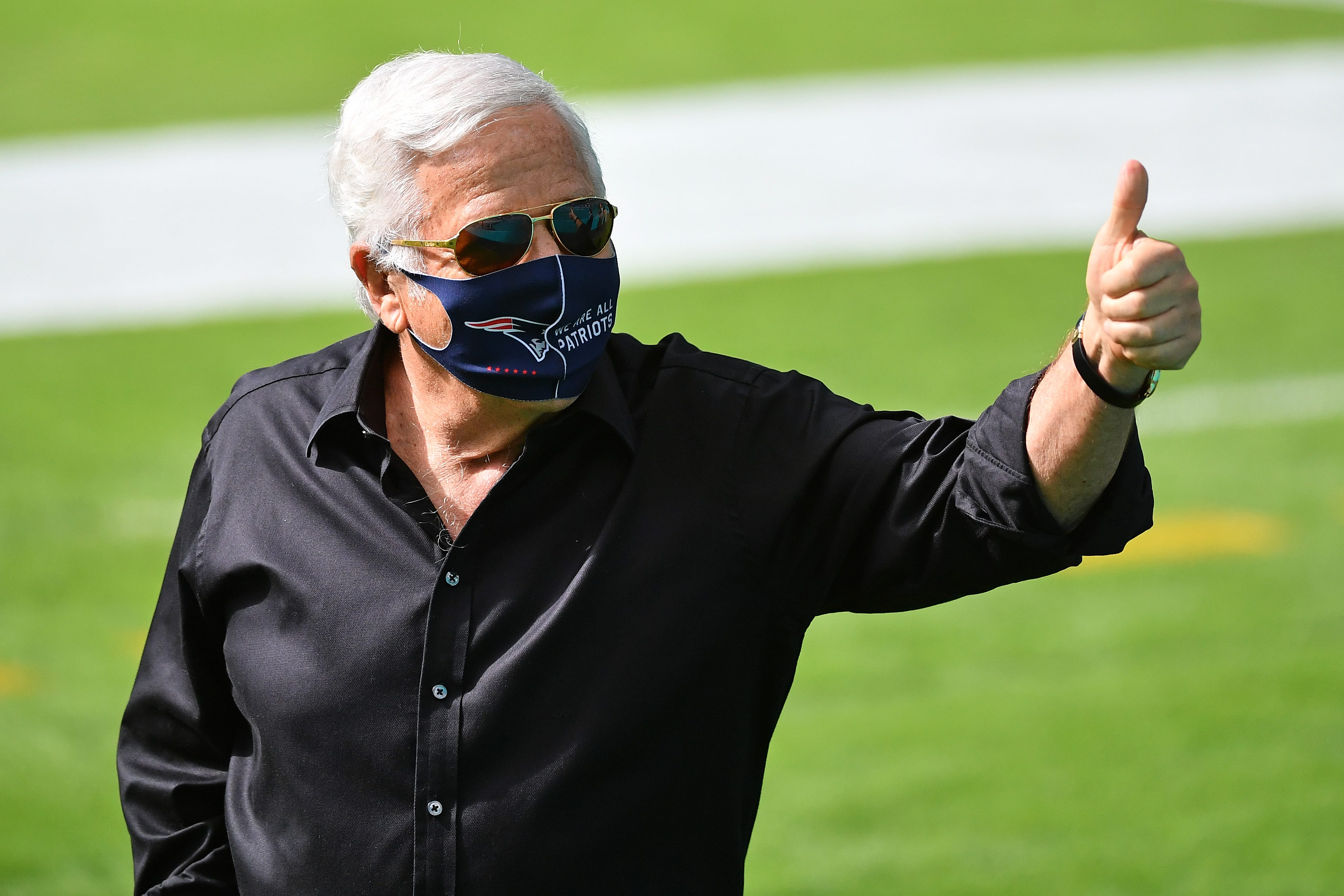 New England Patriots owner Robert Kraft gifted brand new Bentley for 80th birthday