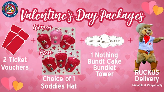 Sod Poodles Valentine's Day package.