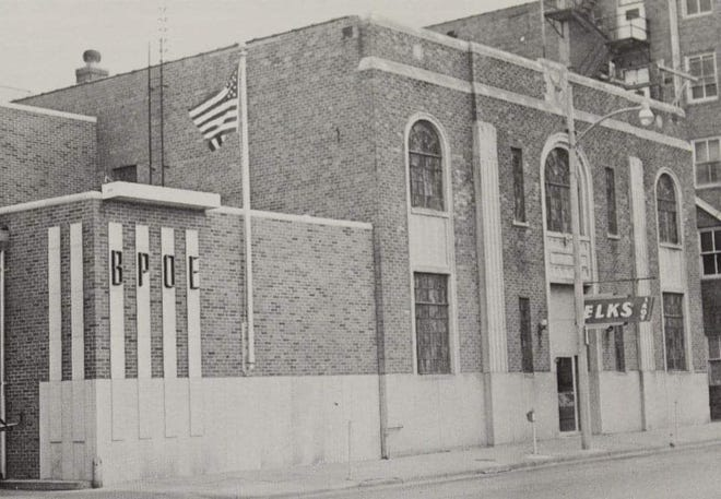 The Elks building in El Dorado was constructed  in 1931 and is under renovation as the club turns 100 years old.