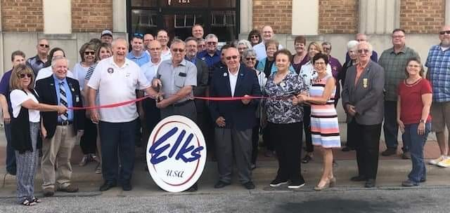 The El Dorado Elks Club moved back into the Elks Bulding in 2018, and started renovations to the building